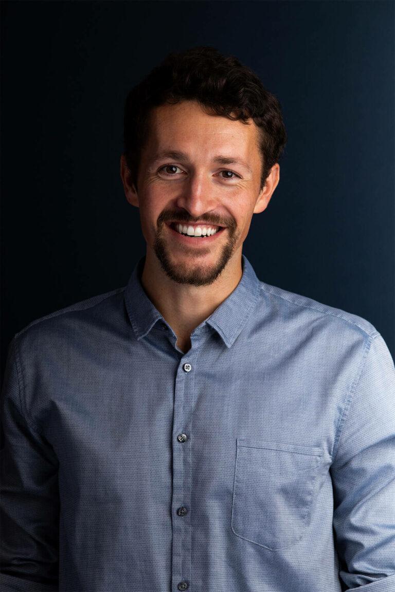 Mitarbeiterfotos Portrait Startup Moritz Leisen